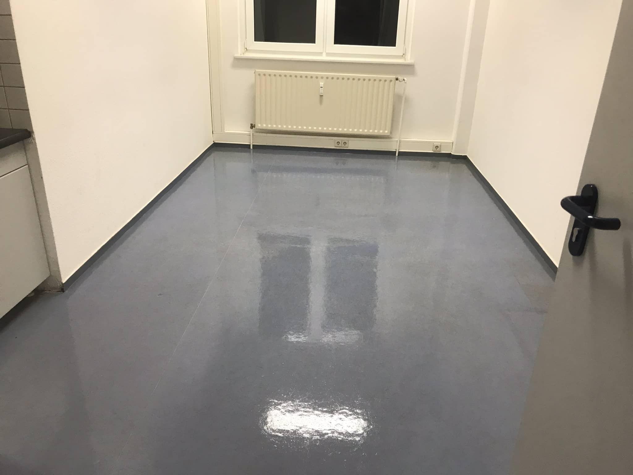 Linoleum Küche Versieglung Neu - Teppichreinigung Polsterreinigung